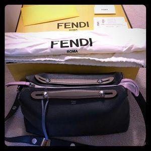 Fendi Large Multicolor ByTheWay Boston Bag
